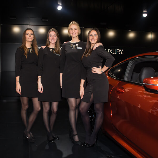 Autosalon Jaguar